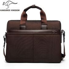 Kangaroo Kingdom Oxford Men Handbag Shoulder Messenger Bag Business Briefcase