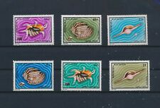 LN72520 Madagascar seashells conks sealife fine lot MNH