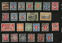 Danzig   nice lot of mint and used  stamps with postage dues            MS0219
