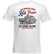 VINTAGE AMERICAN CAR FORD CORTINA 1962 - NEW COTTON T-SHIRT