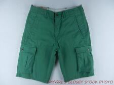 Levi's Mens Green Below the Knee Below the Waist Cargo Shorts SZ W32 NWT ICQ2