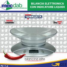 Bilancia Elettronica da cucina con Display Digitale Termozeta Elite
