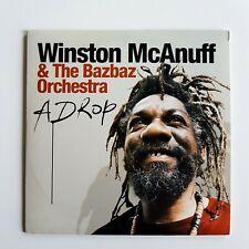 WINSTON McANUFF & THE BAZBAZ ORCHESTRA : A DROP ♦ CD Album Promo ♦