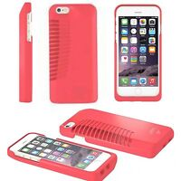 Ampfly MTV Speaker Base Rugged Case Patented Design For Apple iPhone 5 Pink