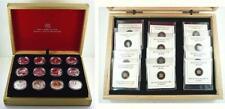 2013 Canada Set of 12 Proof .999 Fine Silver $10.00 Coins - O Canada - Box & COA
