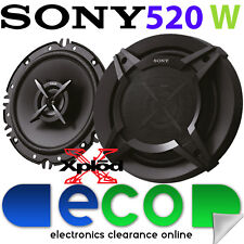 "Peugeot Boxer 2006 - 2014 SONY 16cm 6.5"" 520 Watts 2 Way Front Door Van Speakers"