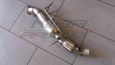 DOWNPIPE INOX 200 CELLE TUBO RIMOZIONE DPF BMW B47 SERIE 1 F20 F21 120D 190CV