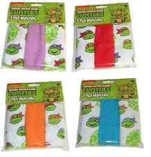 Teenage Mutant Ninja Turtles Baby Wash Cloths - Set of Four - NEW - TMNT