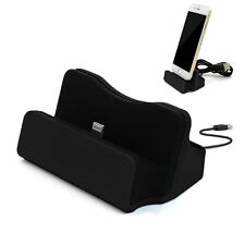 Charging Dock Stand Station Desktop Charger Mount For Apple iPhone 5 6 6s 7 Plus
