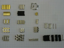Uhr Armband, Einzelne Armband Ersatz Glieder Steel/Gold bracelet links