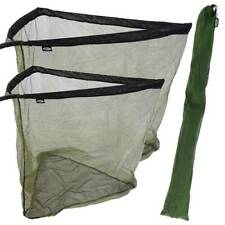 "NGT CARP FISHING LANDING NET TWO TONE 42"" 36"" INCH WITH STINK BAG OPTION"