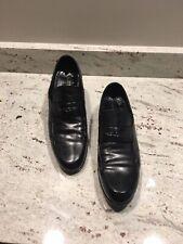 Mens Louis Vuitton Leather Loafers, EUC, Black, Sz 12 M
