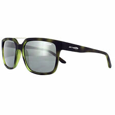 Arnette Sunglasses Petrolhead 4231 24286G Green Havana Rubber Grey Silver Mirror