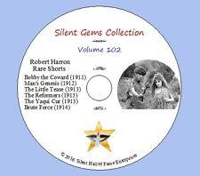 DVD Robert Harron Rare Shorts (1911-1914) Mae Marsh,W. Lucas, Florence La Badie