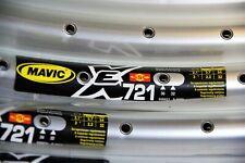 1 pair of New Mavic EX 721 SSC UB SUP rim  26 in 32 holes silver