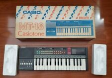 Casio MT-18 CasioTone Electronic Keyboard Vintage 80's synth Kids