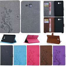 Para Samsung Galaxy Tab e S2 4 de Cuero PU A Funda Inteligente Tarjeta Billetera De pie