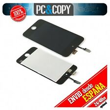PANTALLA LCD COMPLETA IPOD TOUCH 4 4G LCD SCREEN DISPLAY DIGITALIZADOR NEGRO A+