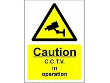 CCTV Security Warning Sign A5 Outside or Inside Use - Security Camera Sign