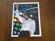 1984 The Magic of Michael Jackson Magazine