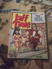 Laff Time Vol. 7 No. 10 May 1965 - Pete Wyma front cover - Bill Wenzel art