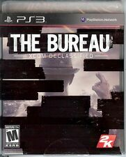 NEW/SEALED THE BUREAU XCOM DECLASSIFIED PLAYSTATION 3 PS3 VIDEO GAME
