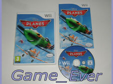 PLANES DISNEY - Wii / Wii U - POCHETTE FR NL - JEU FR NL ENG DE