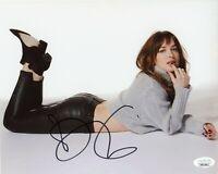 "~~ DAKOTA JOHNSON Authentic Hand-Signed ""FIFTY SHADES"" 8x10 photo (JSA COA) ~~"