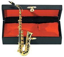Gewa 980580 Miniature Instrument Es-Alt sassofono con custodia (p7k)