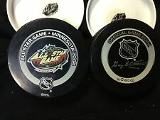 NHL ALL STAR OFFICIAL GAME PUCK 2004 MINNESOTA
