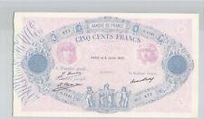 France 500 Francs 9.7.1929 G.1141 n° 28506677 Pick 66k