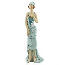 Juliana Art Deco Broadway Belles Teal Blue Lady Figurine / Ornament.New.60828