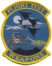 Flight Test Weapons F-117 Nighthawk US Air Force USAF Embroidered Patch