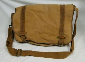 Fat Face Mountain Beach Ocean Land Messenger Bag  Sand Brown(J3)