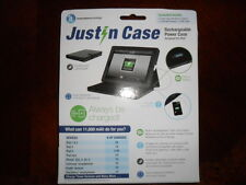 Justin Case Rechargeable Power Case  for Apple iPad and Many More Black