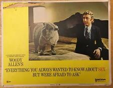 Gene Wilder Everything You Always Wanted to Know About Sex #6 lobby card  509