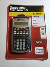 Texas Instruments BA II 2 Plus Professional Financial Calculator