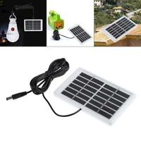 6V 1,2W Solarpanel Solarmodul polykristallinen DC Plug Zelle Batterie Ladegerät