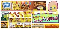 T2 DECALS HO SCALE 1/87 CARNIVAL SIGNS DECAL SET #5 | BN | HOCARN005