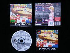 JEU Sony PLAYSTATION PS1 PS2 : PARADISE CASINO (SLES-04048 COMPLET envoi suivi)