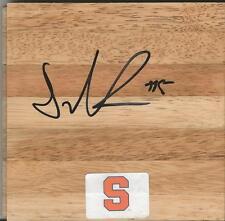 Donte Greene Signed Floorboard Syracuse Kings