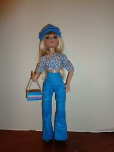 PRETTY  BLUE PANTS OUTFIT FOR  ELLOWYNE WILDE DOLL