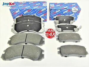 fits  MITSUBISHI DELICA  2.8TD  1994-2006  Front & Rear Brake Disc Pads