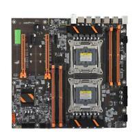 X99 Dual Socket Motherboard E5CPU LGA 2011 3 Pin 8x DDR4 DIMM USB SATA M.2 PCI-E
