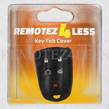 Key Fob Cover for 2015 2016 Cadillac SRX Remote Case Rubber Skin Jacket