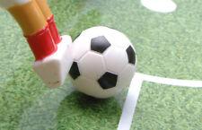 BLI-3BW GARLANDO Foosball Table Football Black & White Balls (Set of 3)