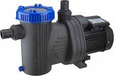 Motor Filterpumpe 13m³ selbstsaugend 206 l/min für Sandfilter Sandfilteranlagen