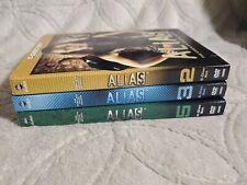 Alias Seasons 2,3,5 DVD Lot - With Slipcovers