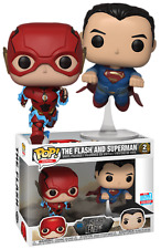 The Flash and Superman NYCC Funko Pop Vinyls in Box