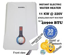 RW126 Electric Tankless Water Heater On-Demand 12.6 KW Best Value 220V Go Green